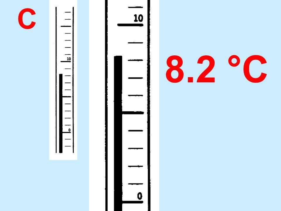 C 8.2 °C