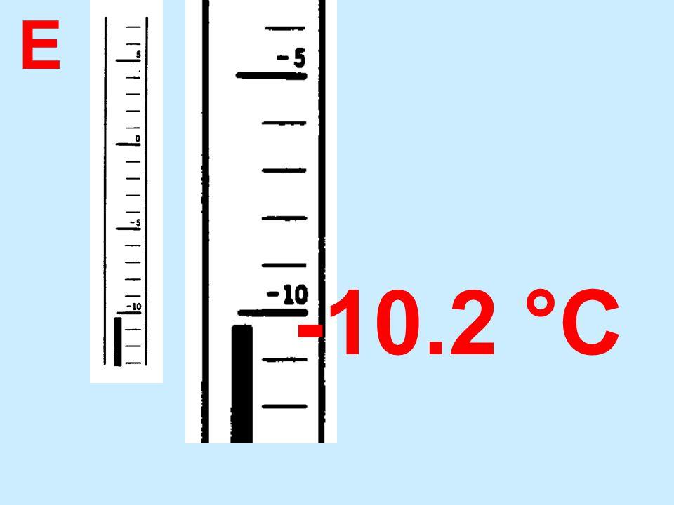 E -10.2 °C
