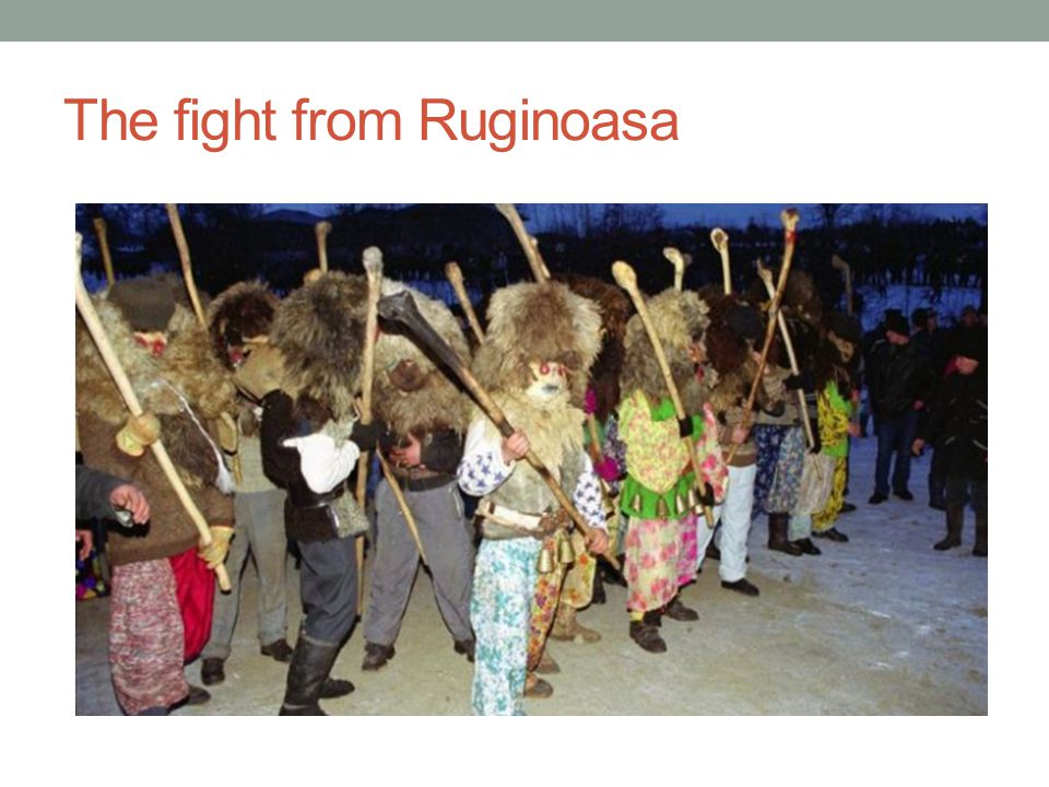 The fight from Ruginoasa