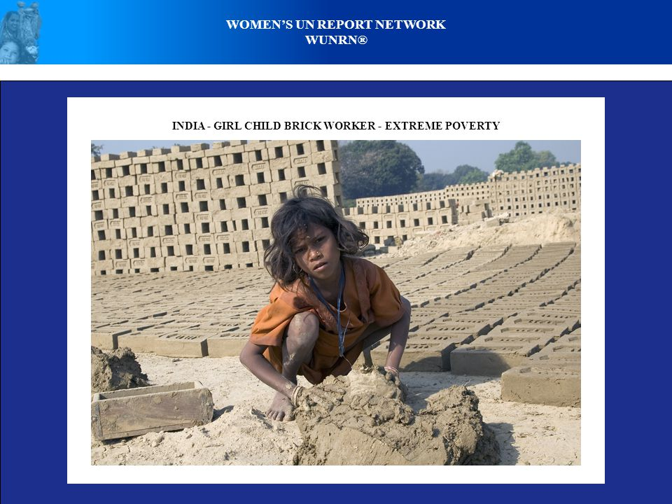 WOMEN'S UN REPORT NETWORK WUNRN® PALESTINE - POVERTY, HUNGER, CONFLICT, LOSSES