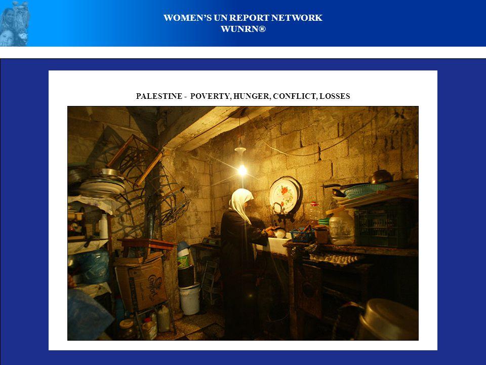 WOMEN'S UN REPORT NETWORK WUNRN® IRAQ - WOMEN & WAR - POVERTY, DISPLACEMENT, LOSS, DESPAIR © Panos Pictures / M.