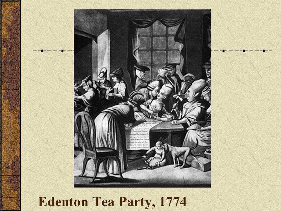 Edenton Tea Party, 1774