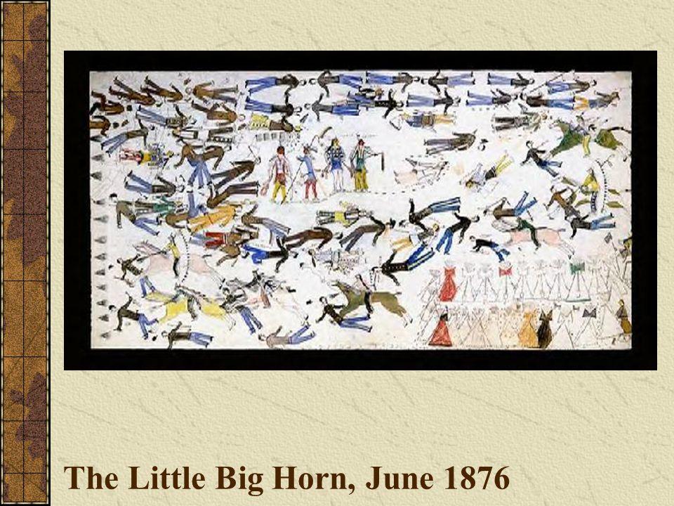 The Little Big Horn, June 1876
