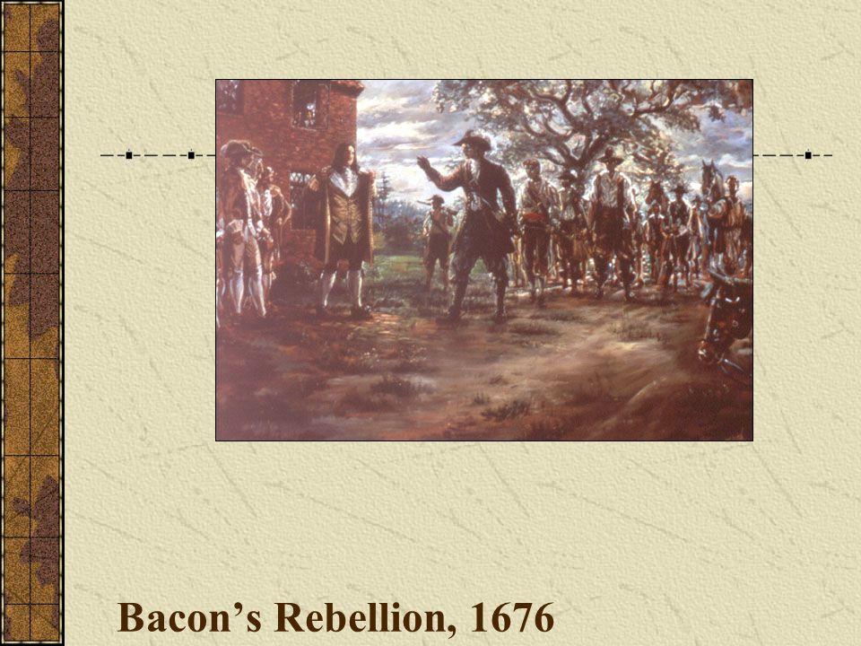 Bacon's Rebellion, 1676