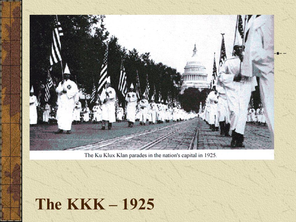 The KKK – 1925