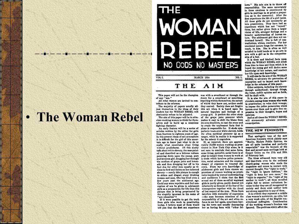 The Woman Rebel