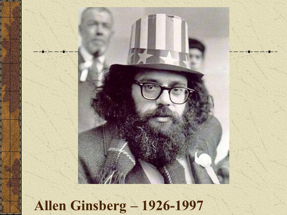 Allen Ginsberg – 1926-1997