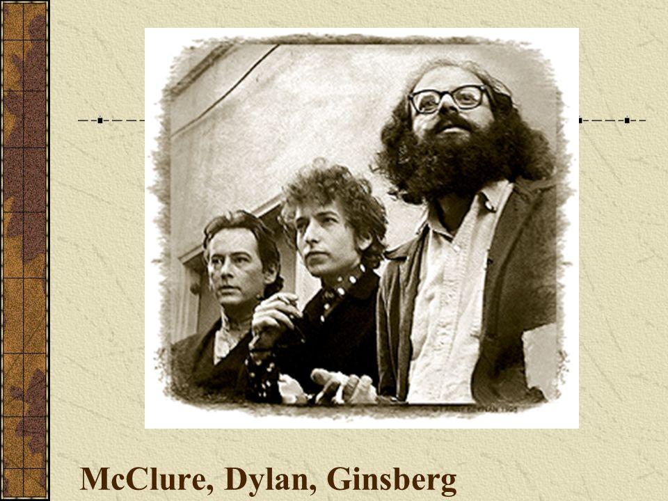 McClure, Dylan, Ginsberg