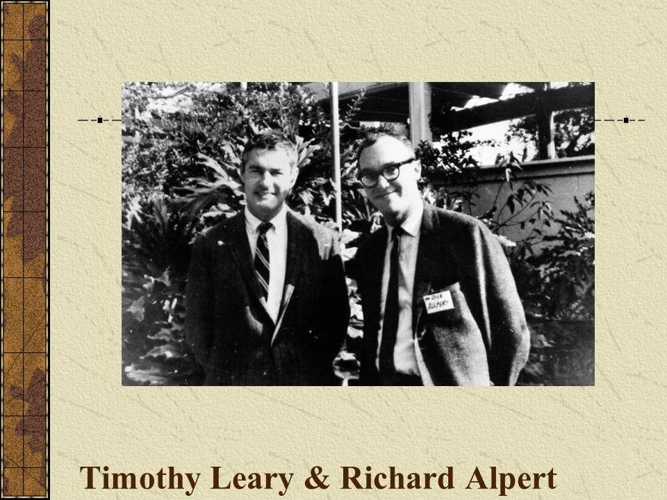 Timothy Leary & Richard Alpert