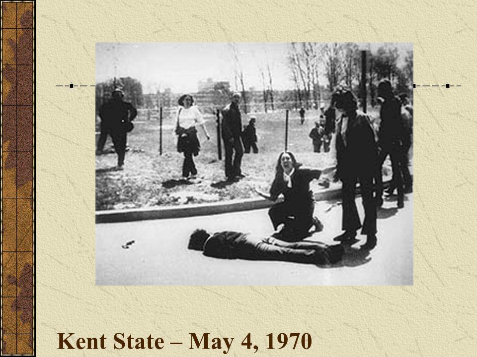 Kent State – May 4, 1970