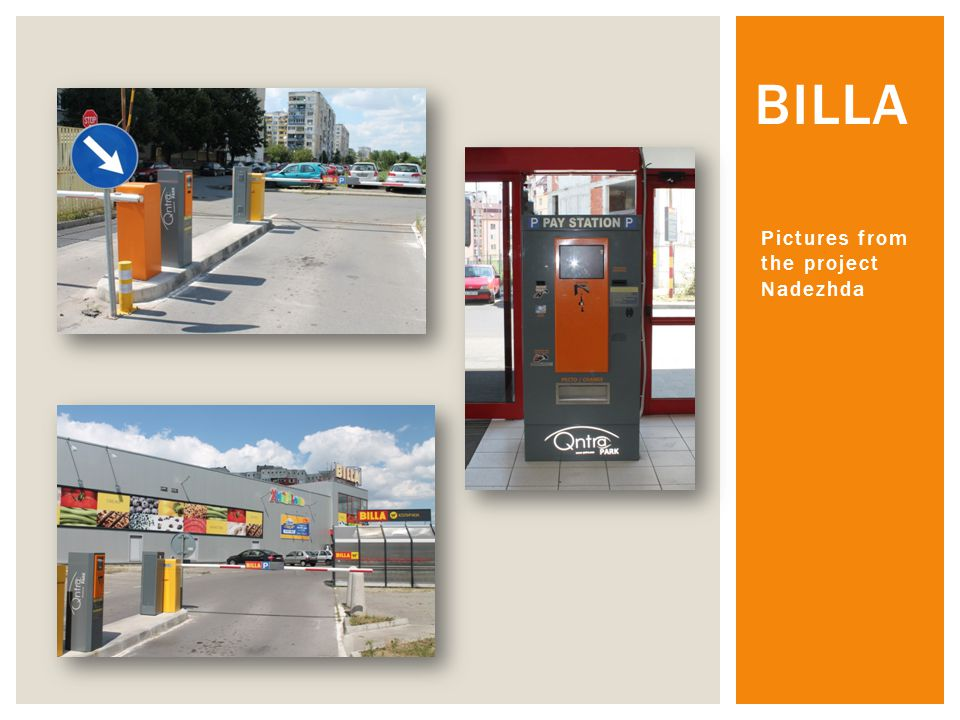 Qntra Ltd company successfully finished project for automatic parking system Qntra Park on Burgas Airport, together with Data Systems Engineering Ltd .The system includes three entrance terminals QPM-100-Entrance, thre exit terminals QPM-200-Exit, four pay stations QPM-1000 PS, six autonatical barriers Park Plus 100, Software for parking management QPS.