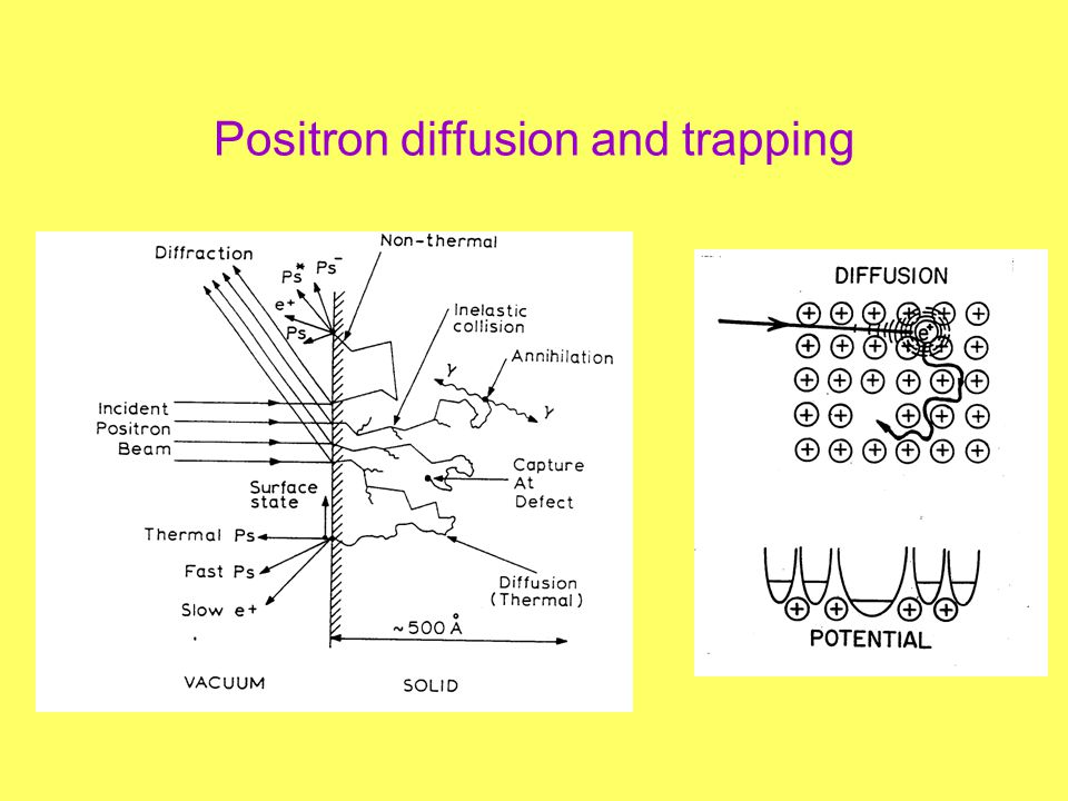 Positron diffusion and trapping