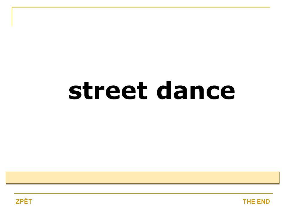 street dance THE ENDZPĚT