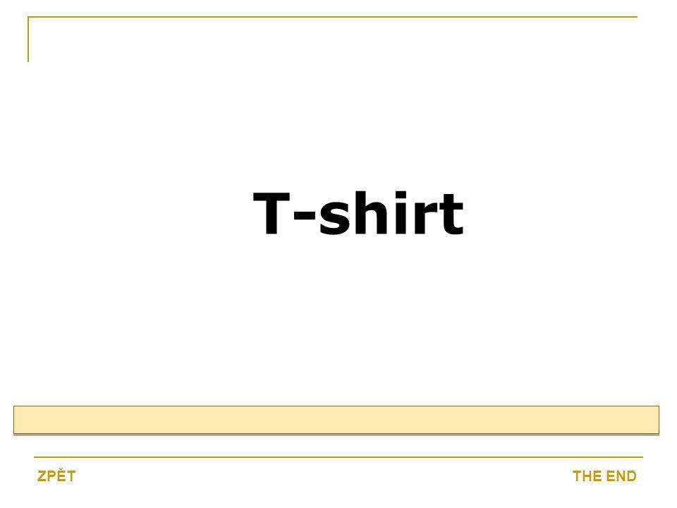 T-shirt THE ENDZPĚT