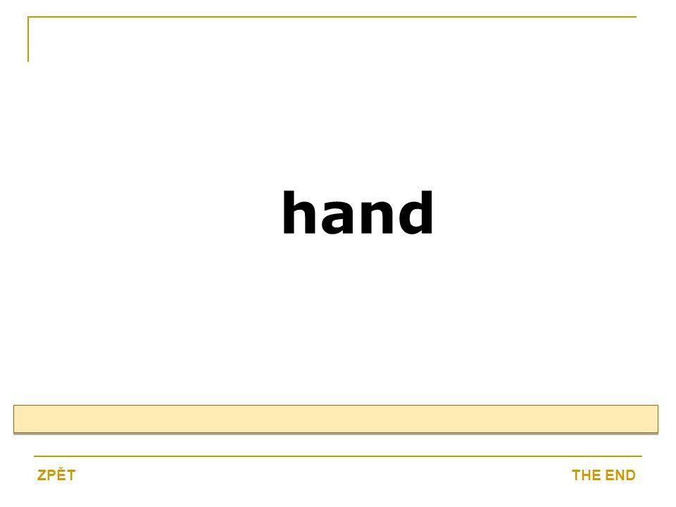hand THE ENDZPĚT