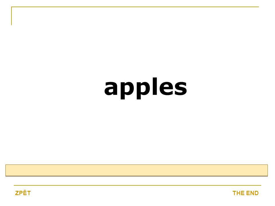 apples THE ENDZPĚT
