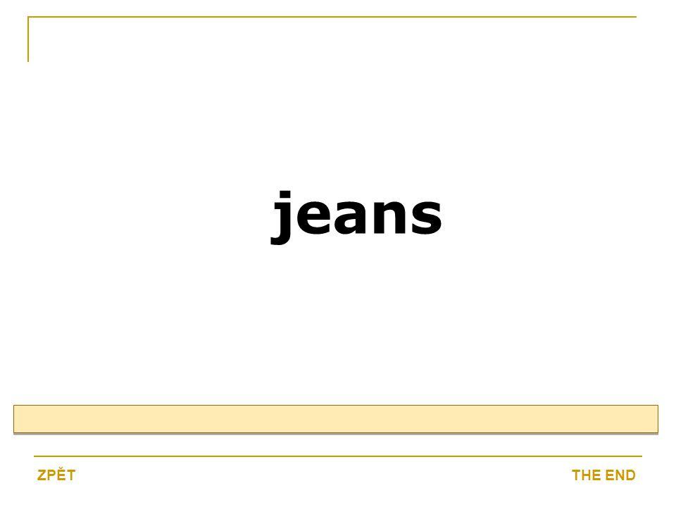 jeans THE ENDZPĚT