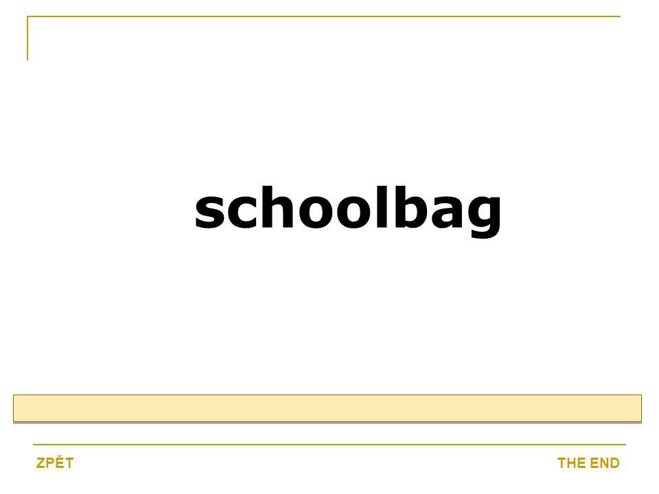 schoolbag THE ENDZPĚT