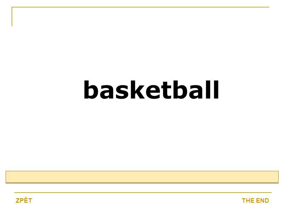 basketball THE ENDZPĚT