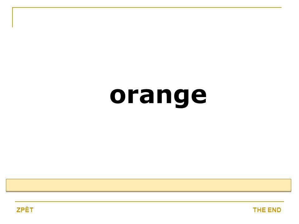 orange THE ENDZPĚT