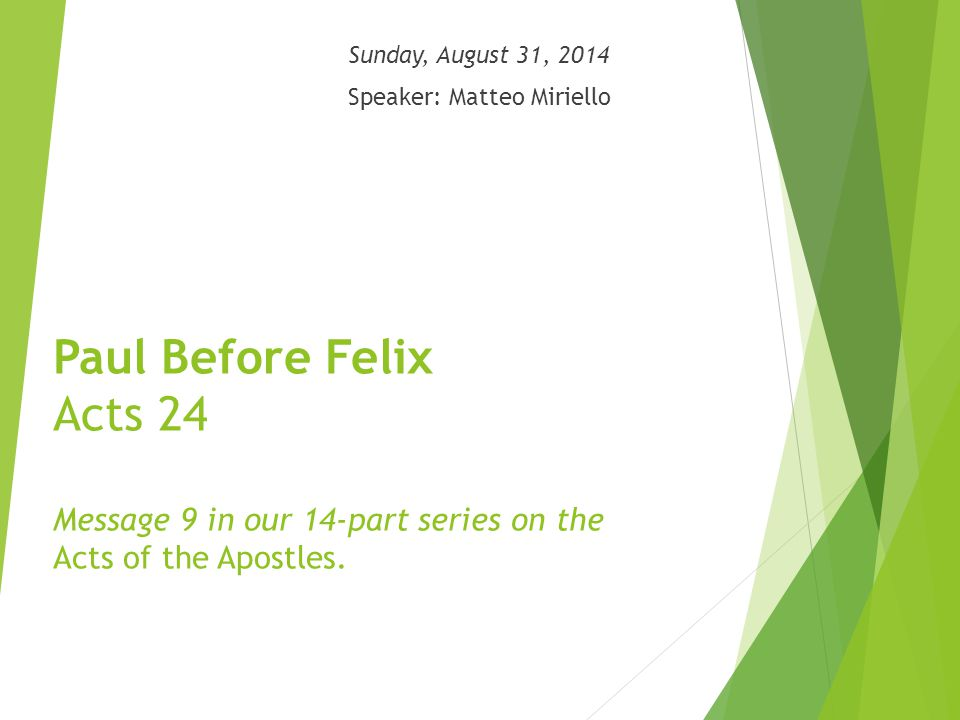 1- Fulfilment of a great Old Testament hope