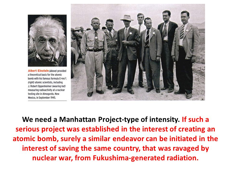 We need a Manhattan Project-type of intensity.