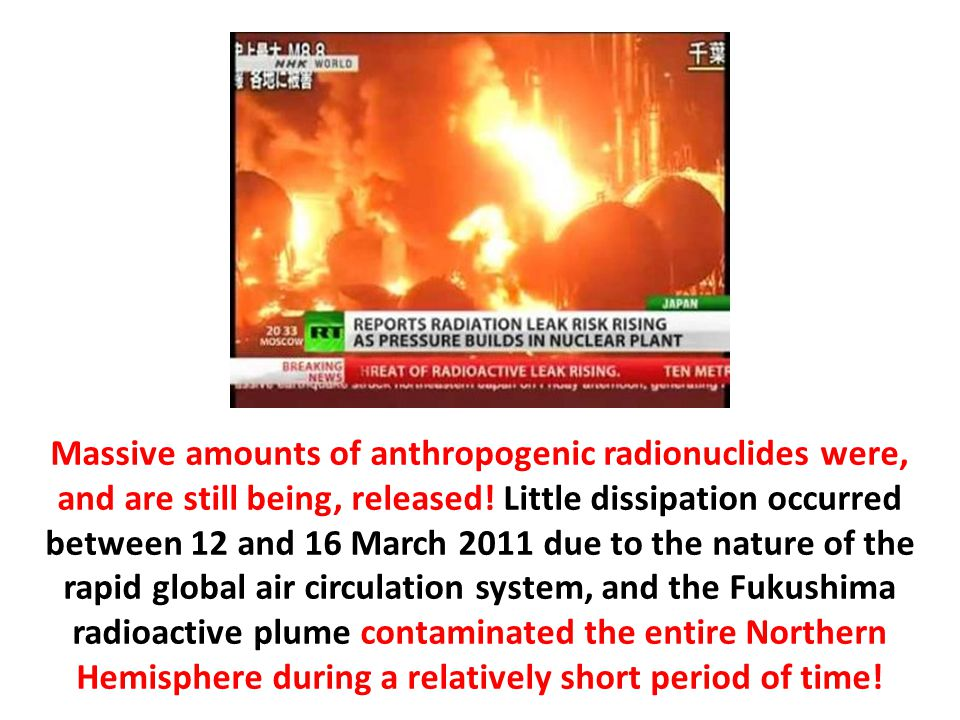 Massive amounts of anthropogenic radionuclides were, and are still being, released.