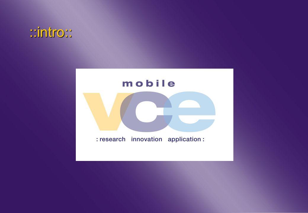 www.mobilevce.com © 2011 Mobile VCE ::intro::