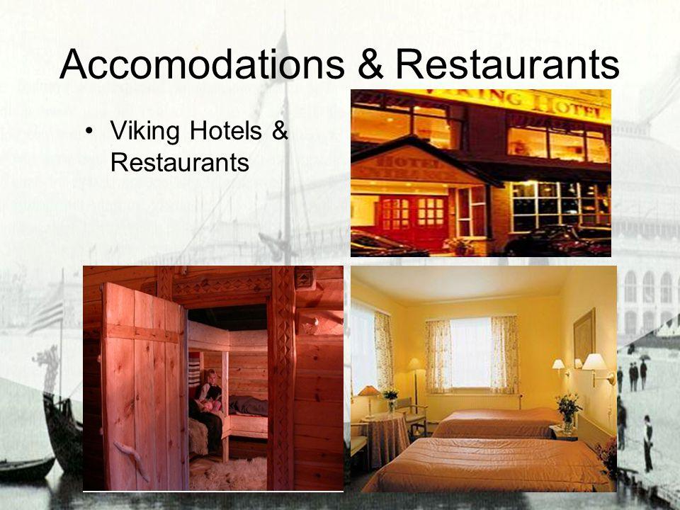 Accomodations & Restaurants Viking Hotels & Restaurants