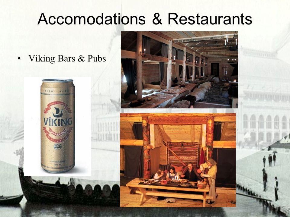Accomodations & Restaurants Viking Bars & Pubs