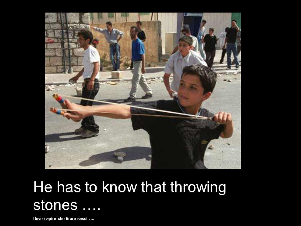 Because he is a terrorist, that's why. Perché è un terrorista, ecco perché.