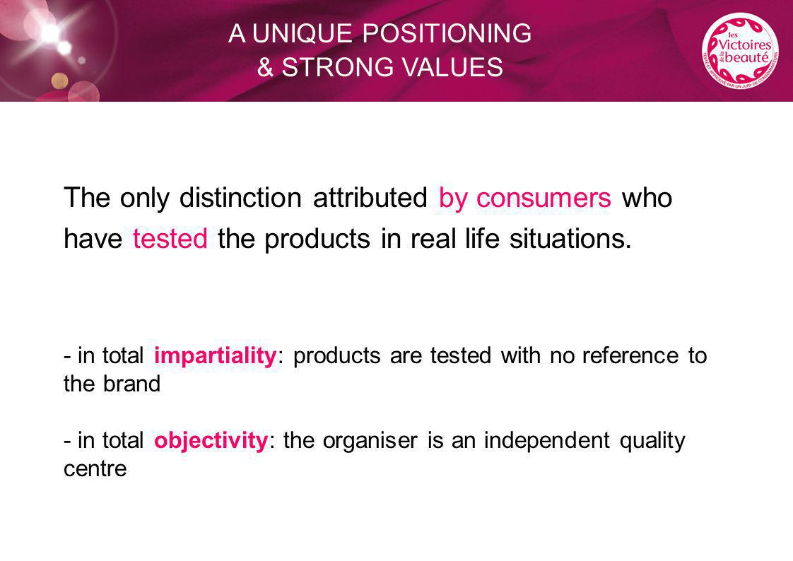 The only distinction attributed by consumers who have tested the products in real life situations.