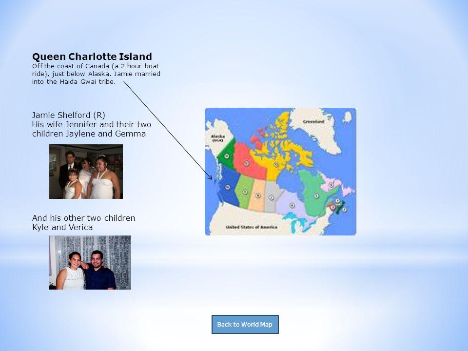 Chicago -Sharayah Morgan (TR) -Brooke Morgan (TR) Los Angeles -Justin Tana (TR) -Linda Birch (A) Back to World Map