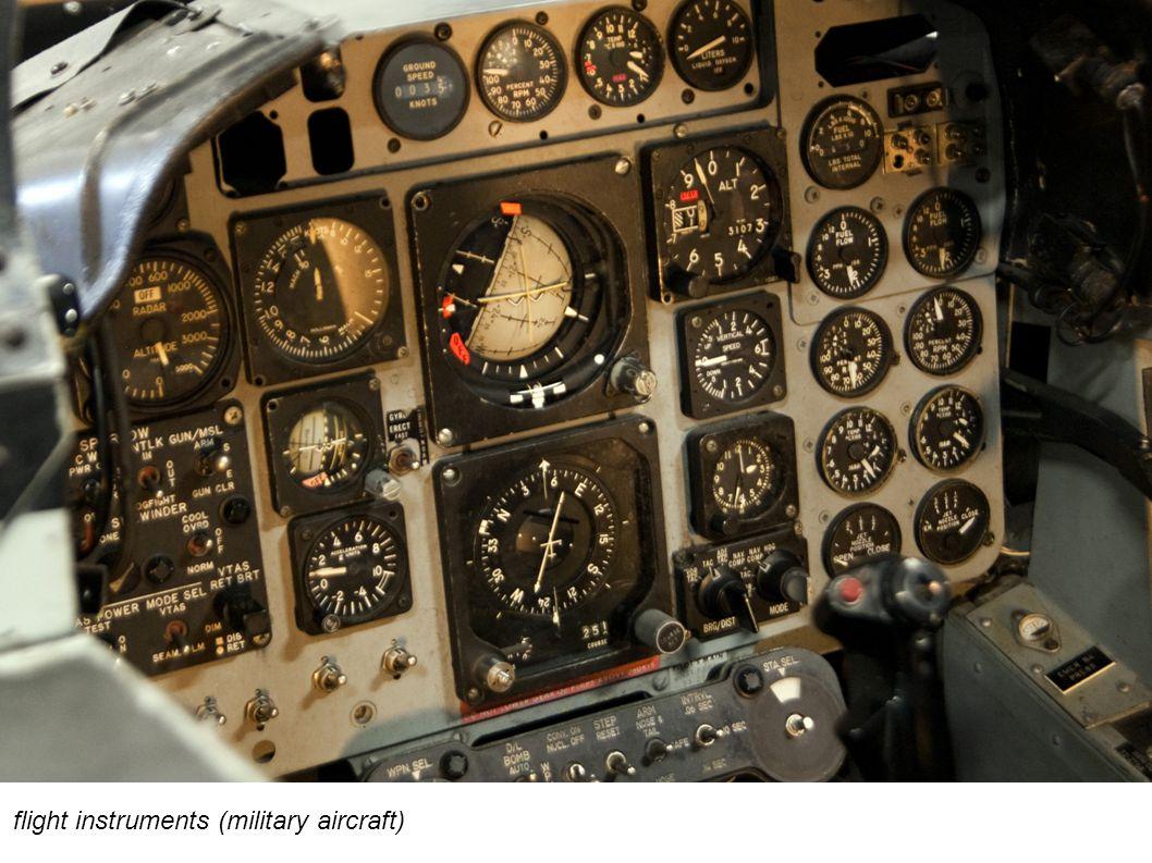 flight instruments (military aircraft)