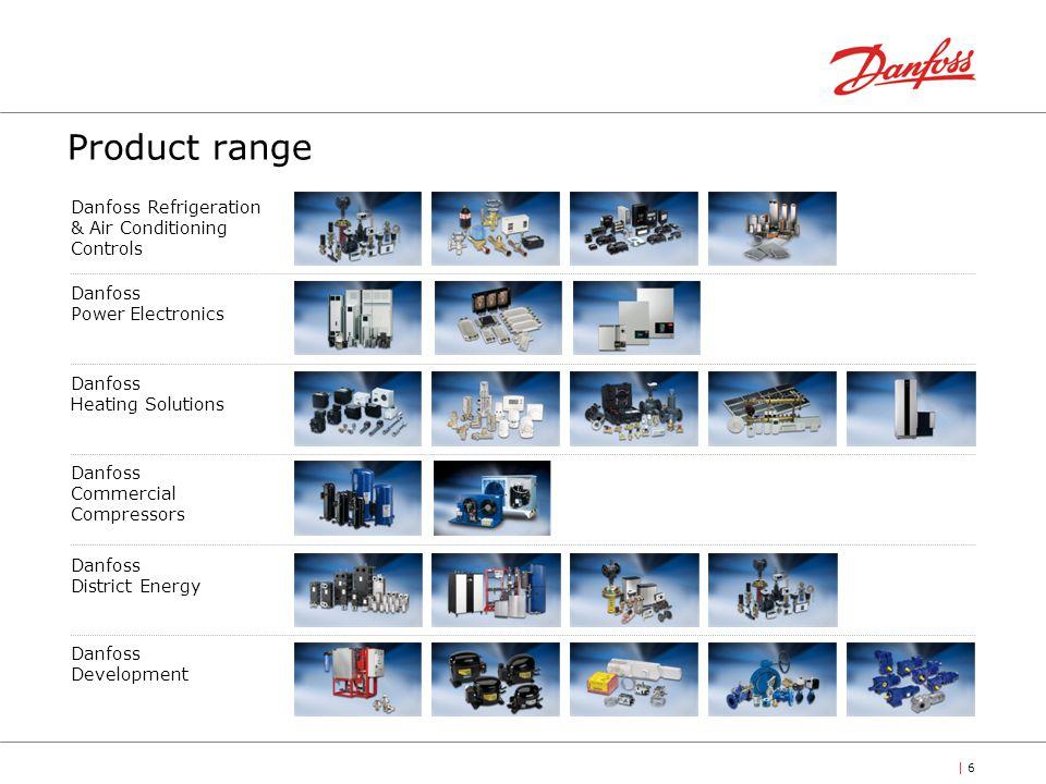 | 6| 6 Danfoss Refrigeration & Air Conditioning Controls Danfoss Commercial Compressors Danfoss Heating Solutions Danfoss District Energy Danfoss Powe