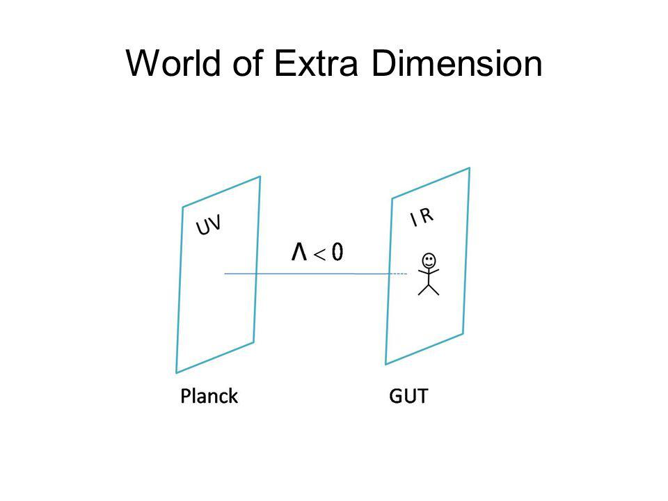 World of Extra Dimension