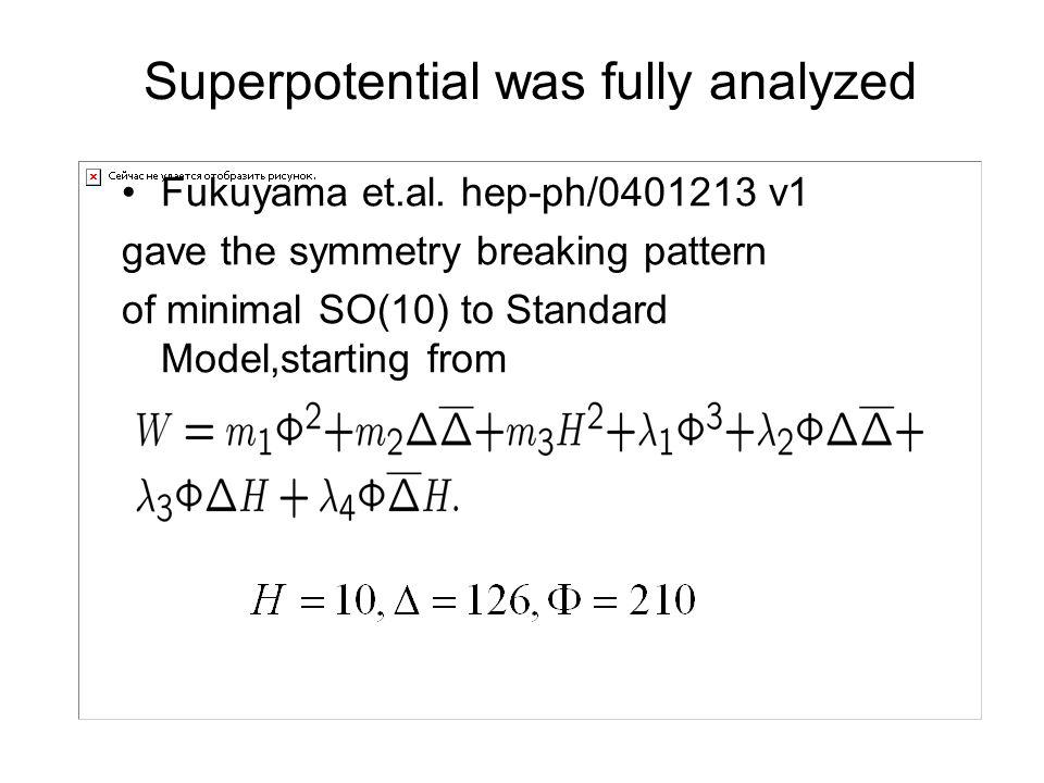 Superpotential was fully analyzed Fukuyama et.al.