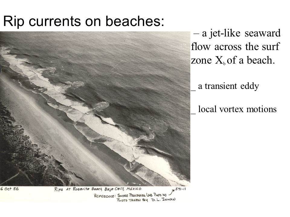 Monitor rip currents so as to reduce the hazard to the public…. on 2004 Rip Current Workshop Observations of rip currents on beaches, HOW .