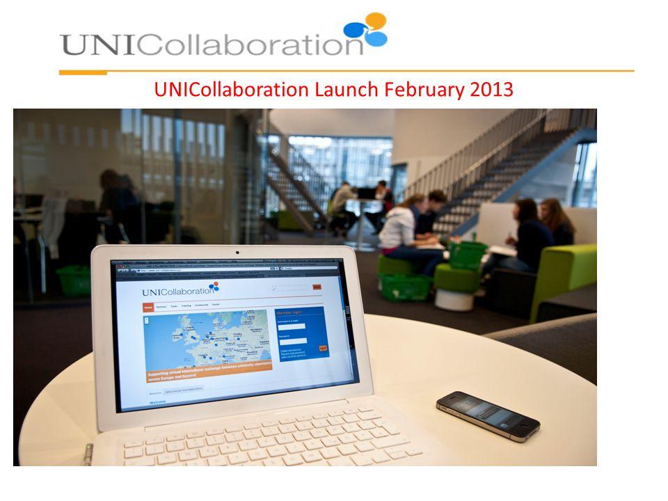 UNICollaboration Launch February 2013