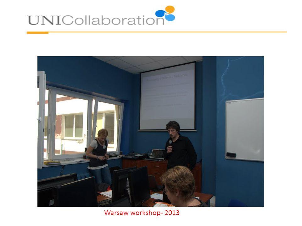 Warsaw workshop- 2013