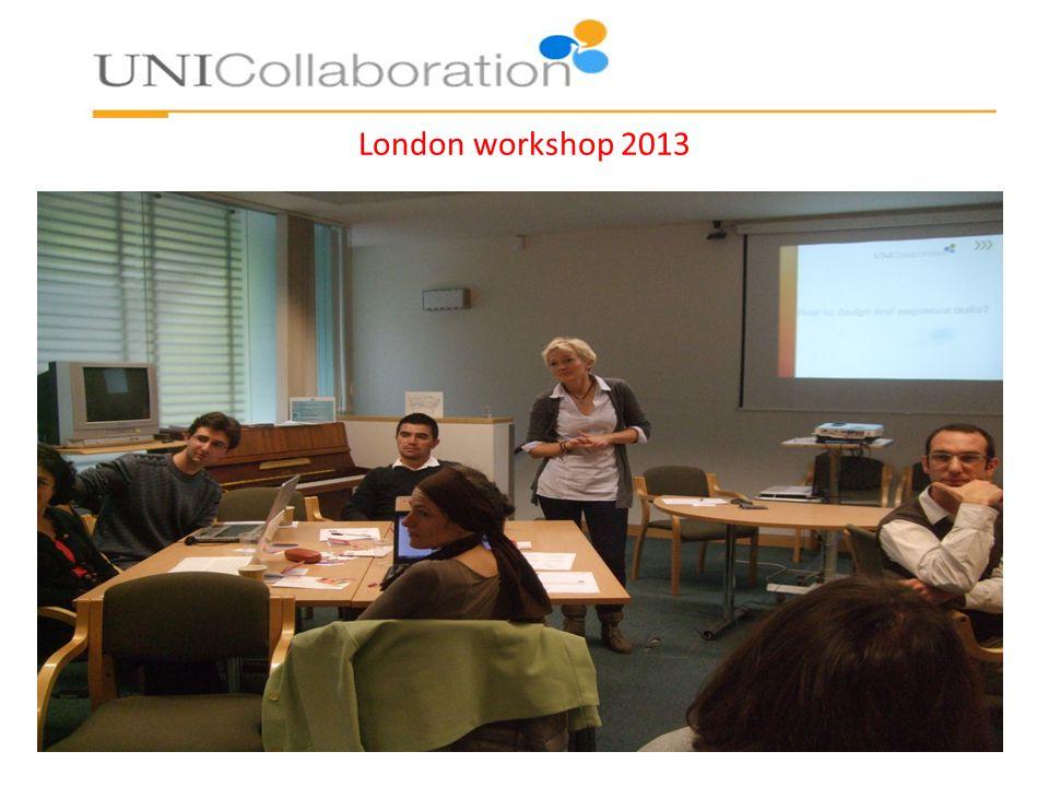 London workshop 2013