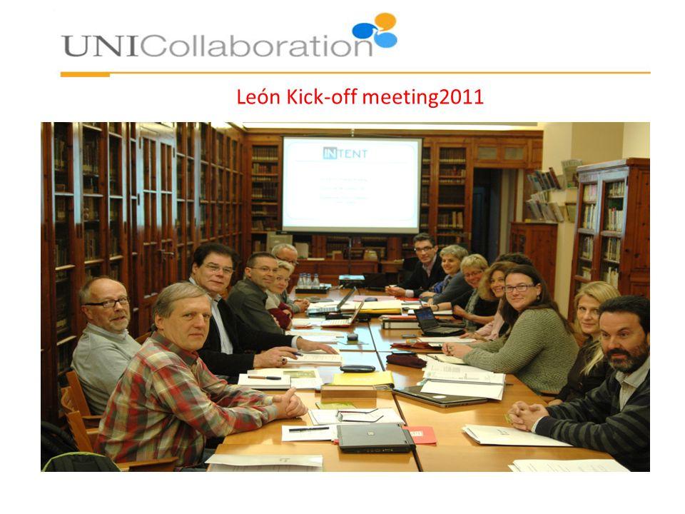 León Kick-off meeting2011
