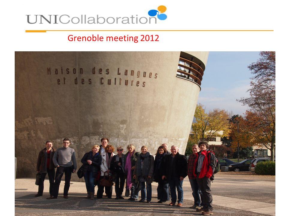Grenoble meeting 2012