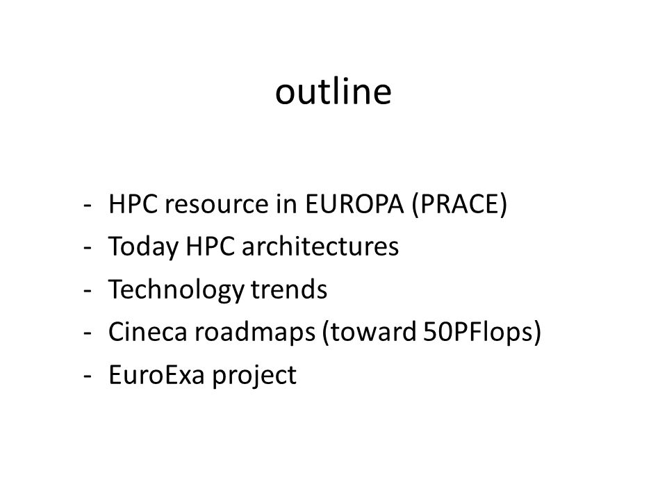 The PRACE RI provides access to distributed persistent pan-European world class HPC computing and data management resources and services.