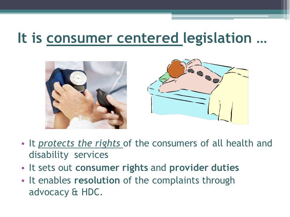 Take Home Messages Understand the Code of Rights is about the QUALITY of care.
