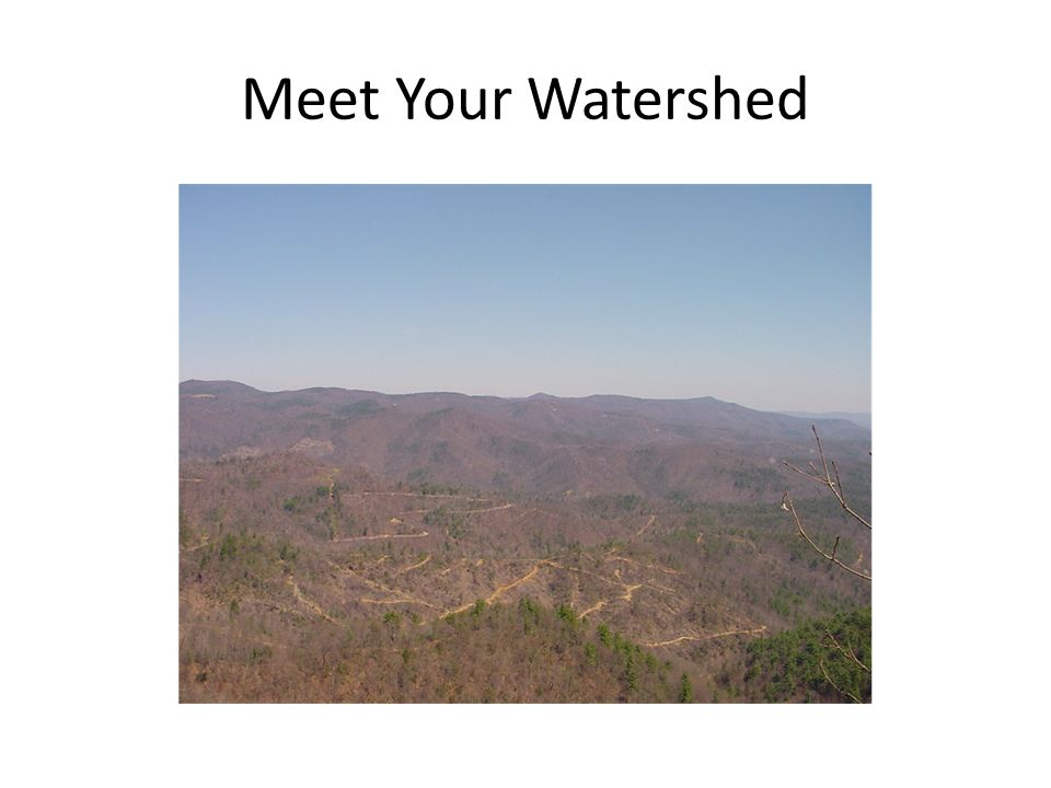 Meet Your Watershed