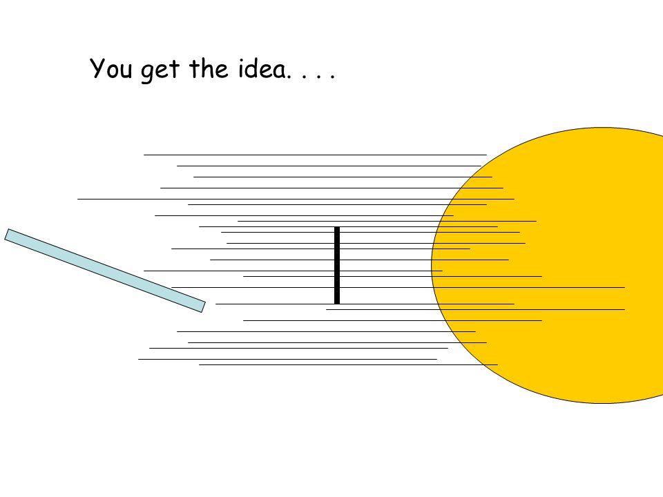 You get the idea....