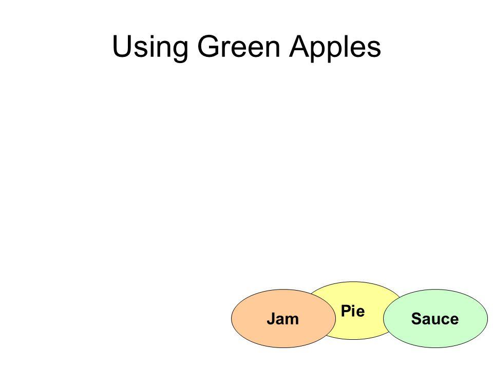 Pie Using Green Apples SauceJam