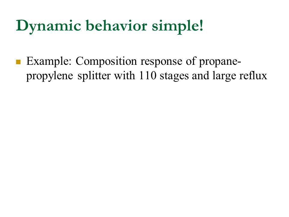 Dynamic behavior simple.