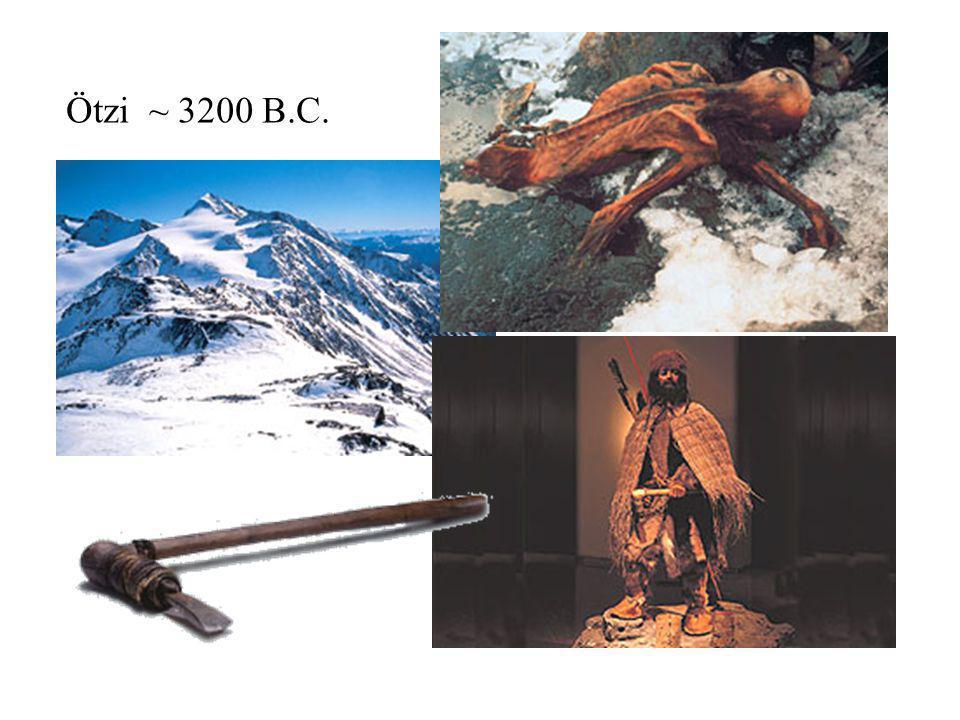 Ötzi ~ 3200 B.C.